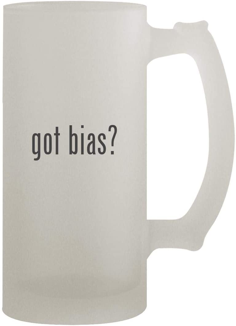 got bias? - 16oz Frosted Beer Stein, Frosted