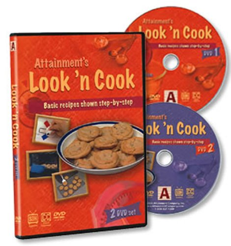 Look'n Cook Basic recipes shown step-by-step