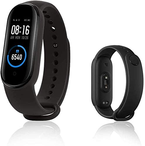 Xiaomi Mi Band 5 Smart Bracelet Activity Tracker and Fitness Tracker with 1,1  AMOLED Color Screen, Magnetic Type Charge, 50m Waterproof Pedometer and Messaging Notifications