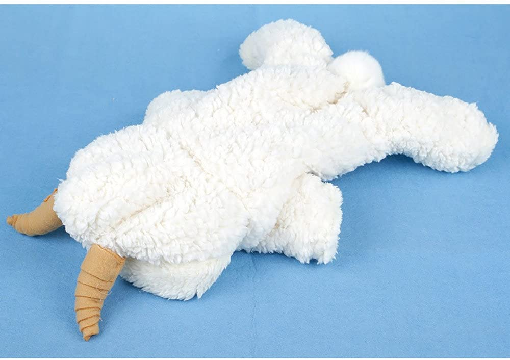Yiduore Dog Cat Sheep Costume Pet Sheep Clothing Funny Party Cosplay Outfit Apparel