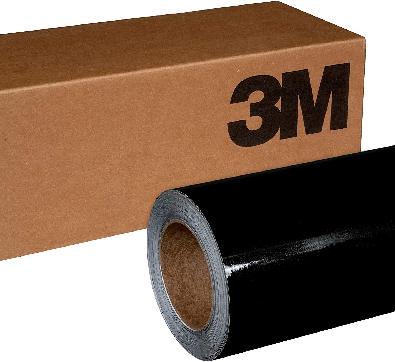 3M 1080 G212 Gloss Black Metallic 3in x 5in (Sample Size) Car Wrap Vinyl Film
