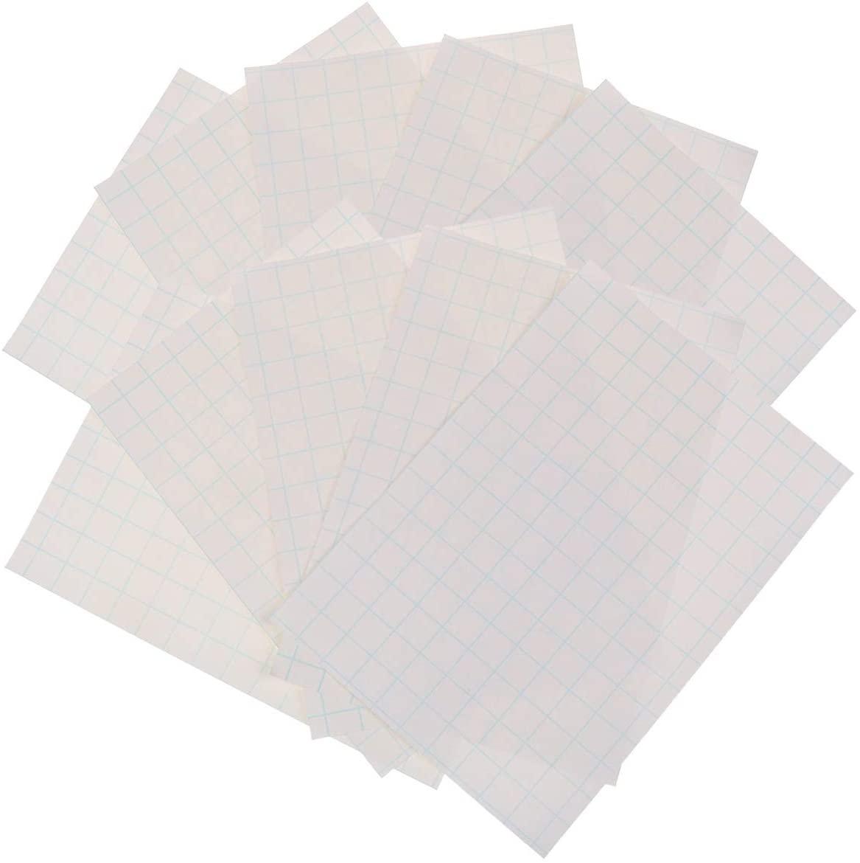 Xgood 10 Sheets Printable Heat Transfer Paper A4 Printable T-Shirt Heat Transfer Vinyl Paper Inkjet Printers Paper for DIY Dark Cloth