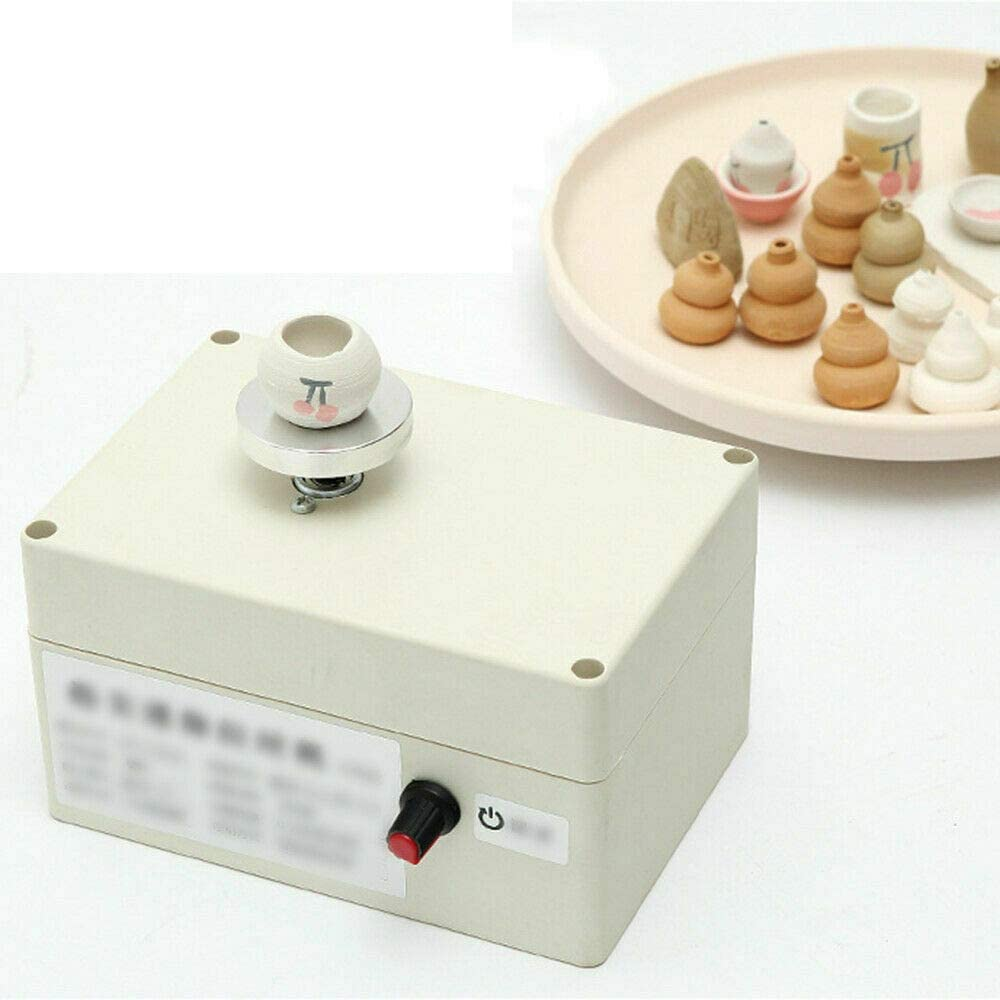 CNCEST Pottery Wheel, USB Pottery Machine, 2000 RPM Pottery Wheel Mini Clay Making Pottery Machine Ceramic DIY Craft, Suitable for School Teaching, Pottery Bar Or Home Use