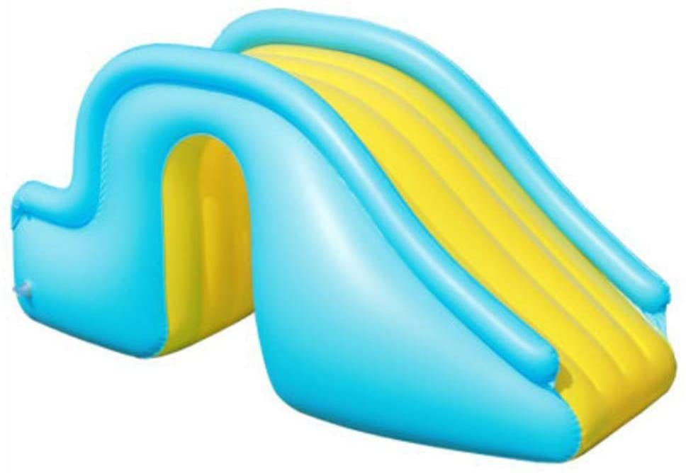 Inflatable Slide Water Slide Kids Slip Adult Outdoor-Inflatable Waterslide Wider Steps Joyful Swimming Pool Supplies Kids Water Play Recreation -Facility
