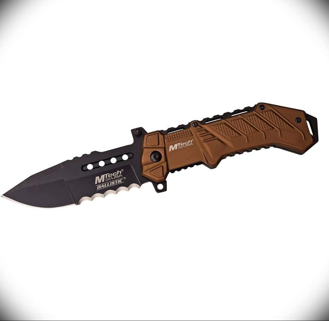 Mtech Linerlock Pocket Knife for Men 3.75