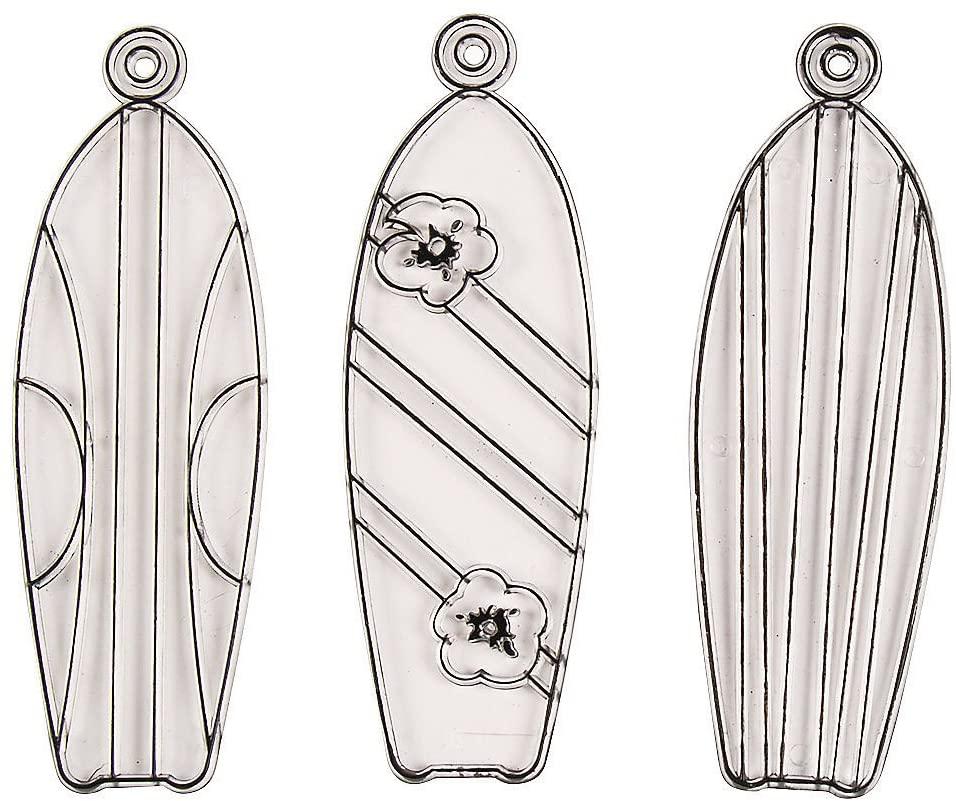 Fun Express Paint Your Own Suncatchers-Summer Theme (Surfboard)