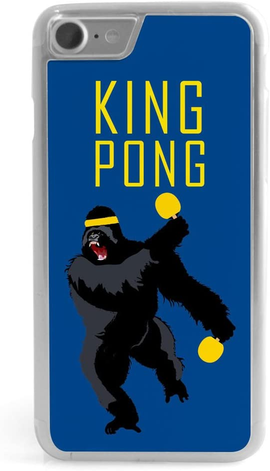 Ping Pong iPhone X Case | King Pong | Blue
