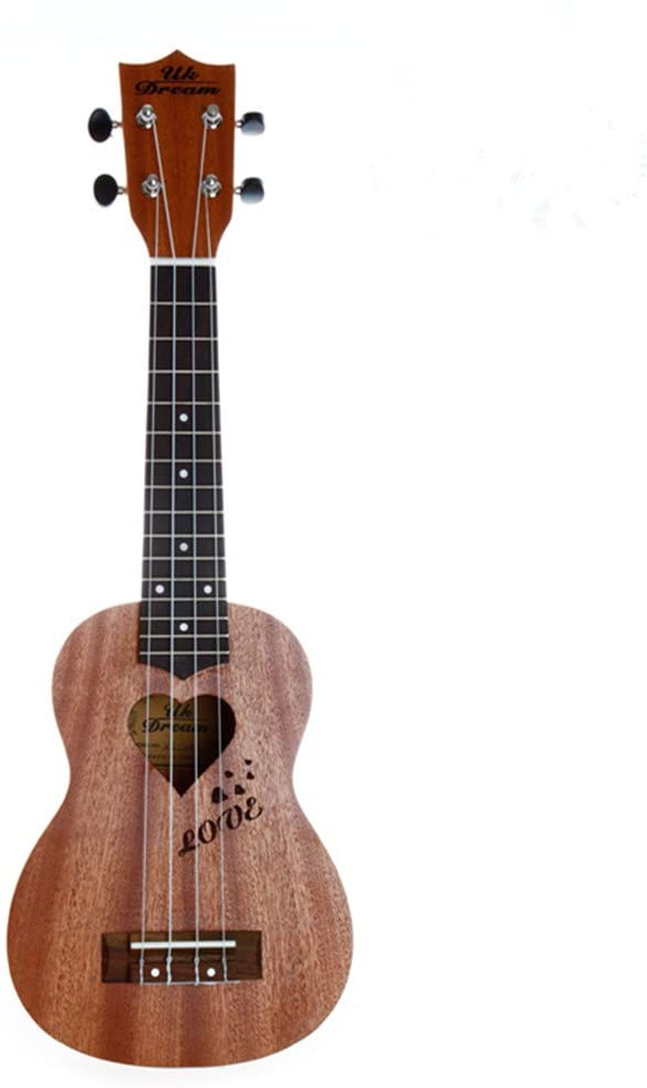 Ukulele Musical Instrument (21 inch, Brown)