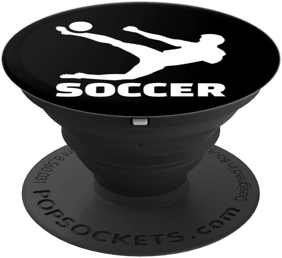 Soccer player PopSockets Grip and Stand for Phones and Tablets