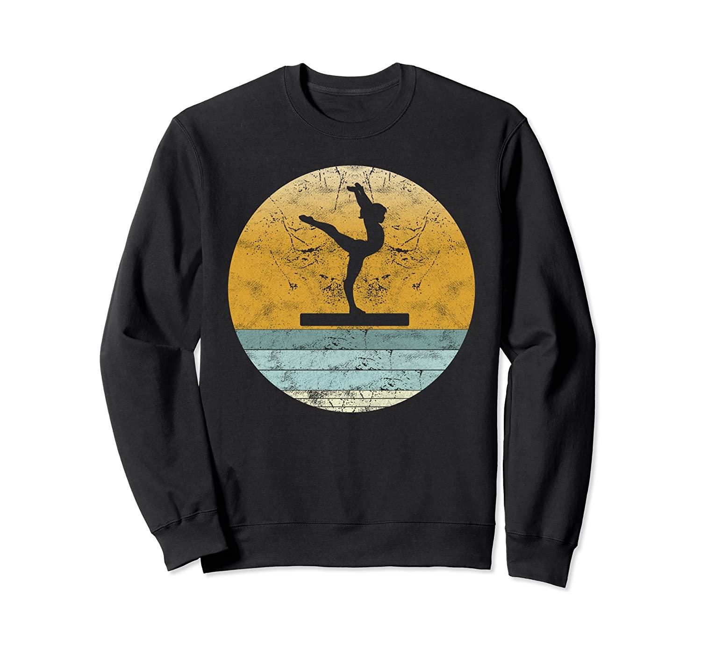Retro Gymnastic Vintage Style Sport Gift for Women Sweatshirt