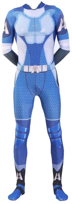 Homelander Cosplay Costume Men's Full Customization Hot Tv Series Homeland The Trainer Costume Men Halloween Costume