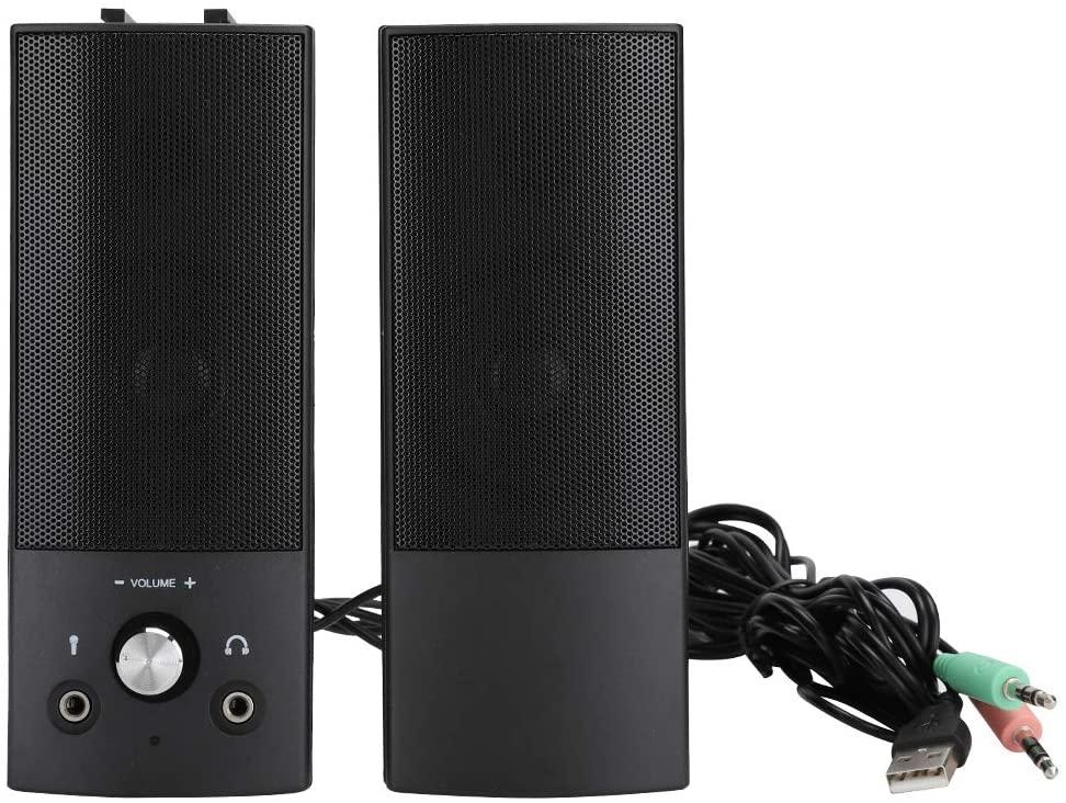 Queen.Y Desktop Speaker SADA V-117 Wired Computer Audio 3W Home Small Speaker Notebook Subwoofer for Surround S