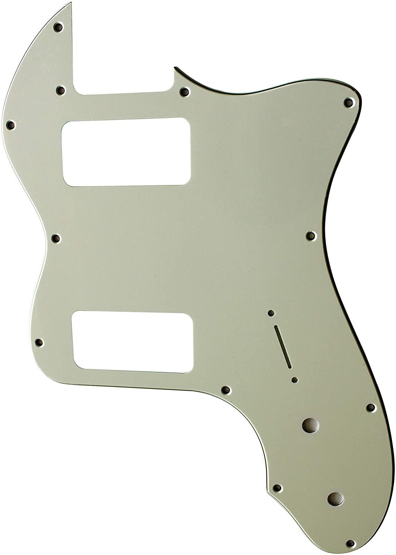 Custom For Classic Series '72 Thinline Tele TV Jones Electric Guitar Pickguard (3 Ply Mint Green)