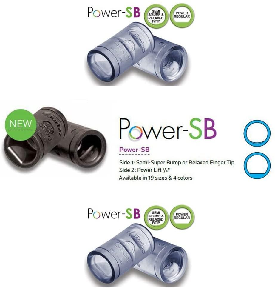 Turbo Quad Power SB Finger Grip (47/64, Ice)