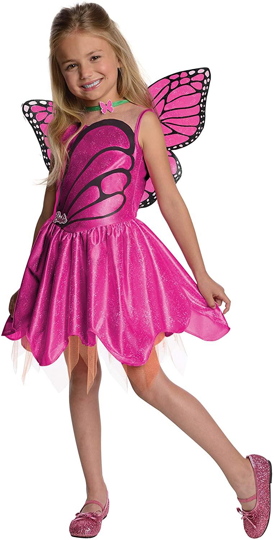 Barbie Fairytopia Mariposa and Her Butterfly Fairy Friends Halloween Sensations Mariposa Costume, Medium