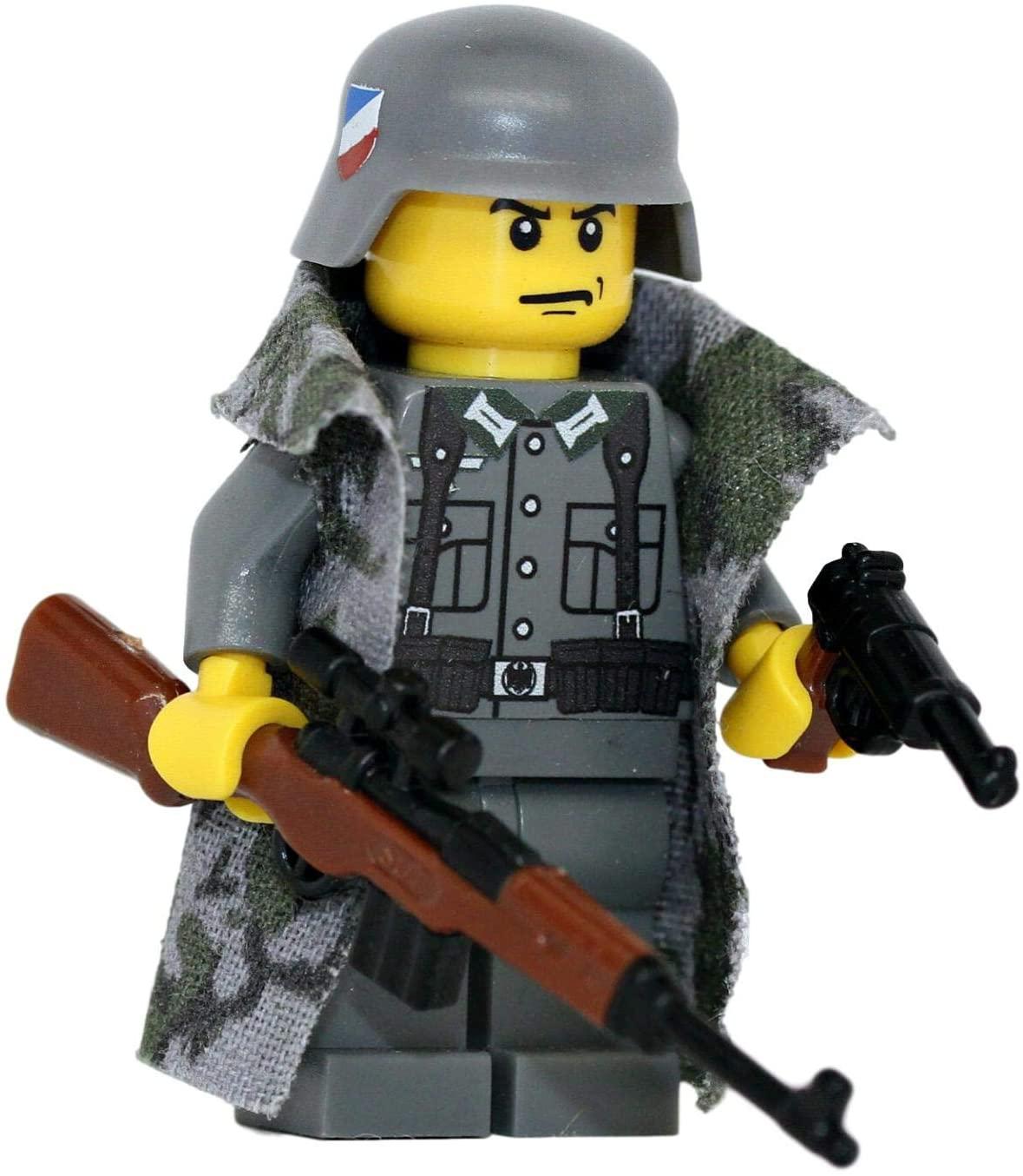 Modern Brick Warfare German Sniper WW2 Custom Minifigure