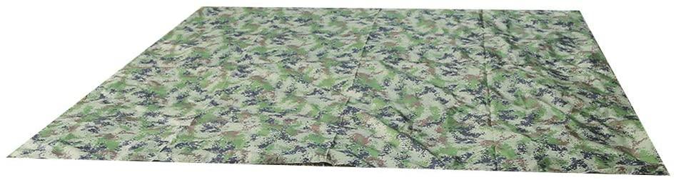 ViaGasaFamido Multi-Function Tent Tarp,Rainproof Anti-Uv Shade Rate Reached 50% Tent Tarp High Density Silver Coated Fabric
