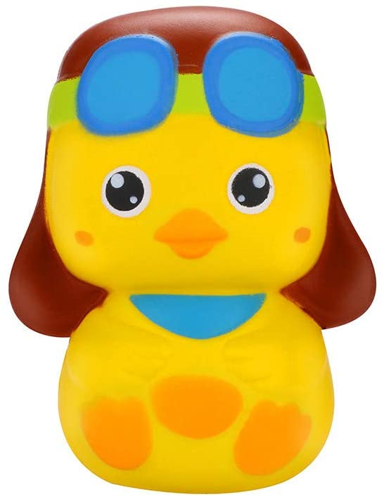 Pacoco YueShang Decompression Toys Relieve Stress and Release Stress Cute Duckling Scented Squishies Slow Rising Kids Toys Stress Relief Toy
