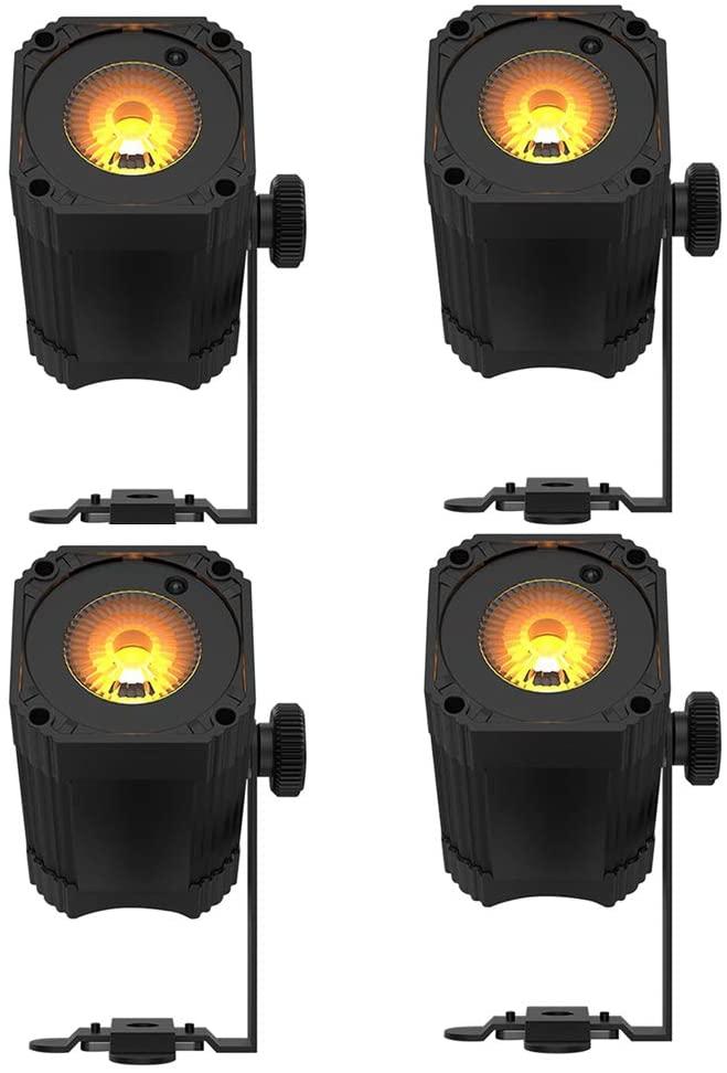 Chauvet DJ EZlink Par Q1BT Battery-Powered Quad-Color (RGBA) Wash Light 4 Pack