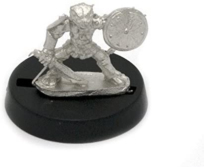 Stonehaven Grippli Warrior Miniature Figure (for 28mm Scale Table Top War Games) - Made in USA