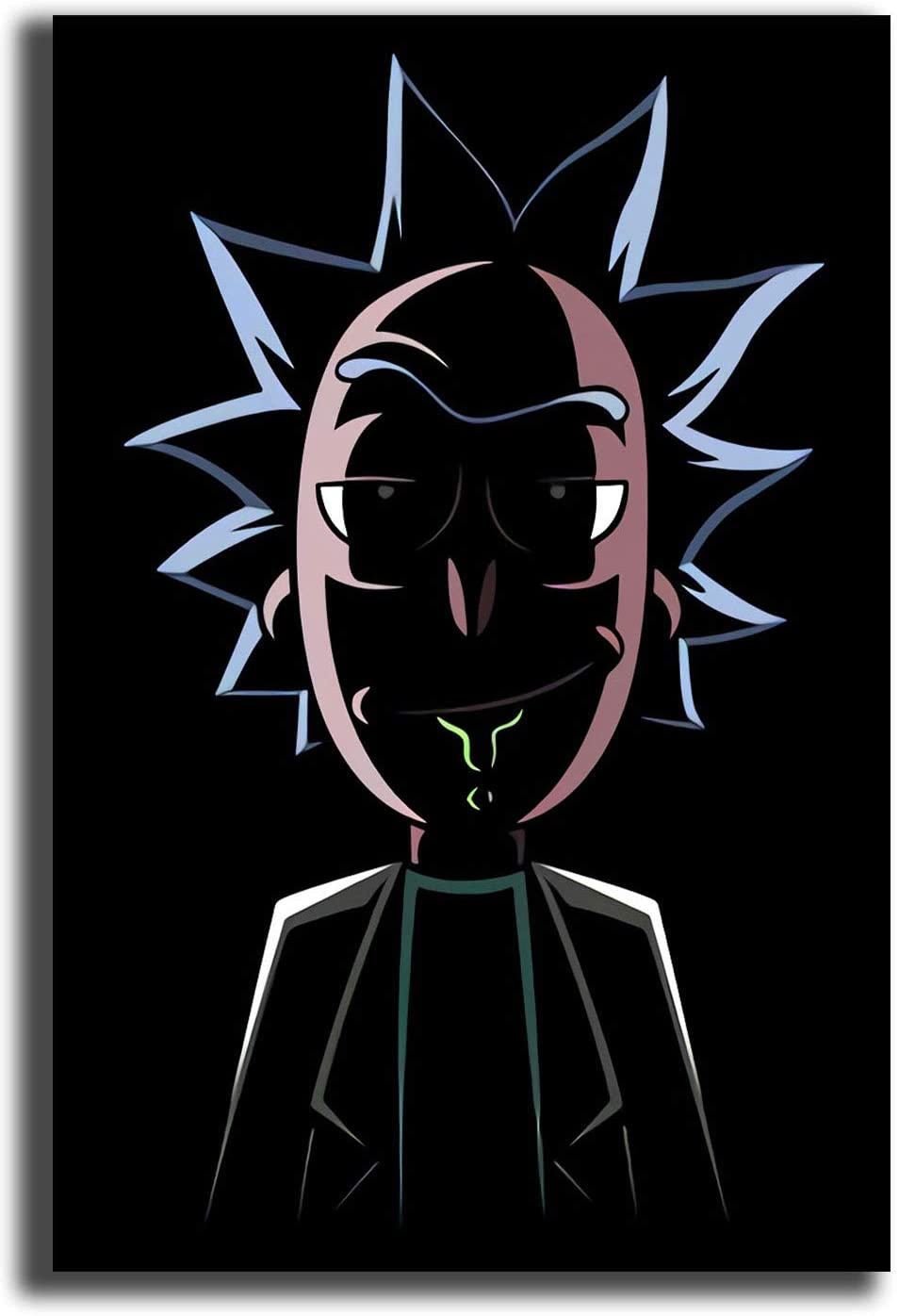 Rick and Morty Poster Prints Wall Art Colorful Abstract Indoor Wall Decoration Gifts Arts and Crafts 12