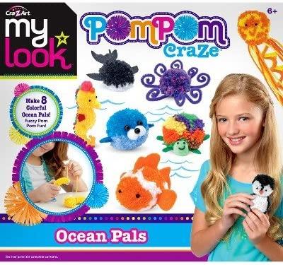 My Look Pom Pom Craze - Ocean Pals by CRA-Z-Art