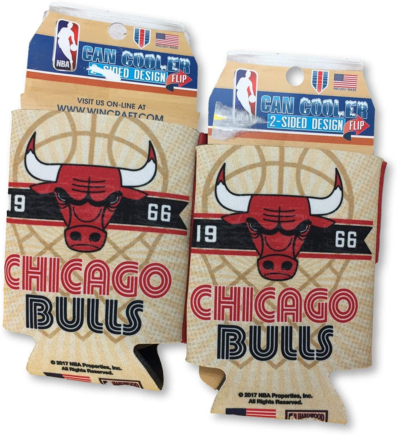 NBA Fan Shop Authentic 2-Pack Insulated 12 Oz Cold Can Cooler/Holder. Show Team Pride at Home, Tailgating or at The Game. Great for Fans