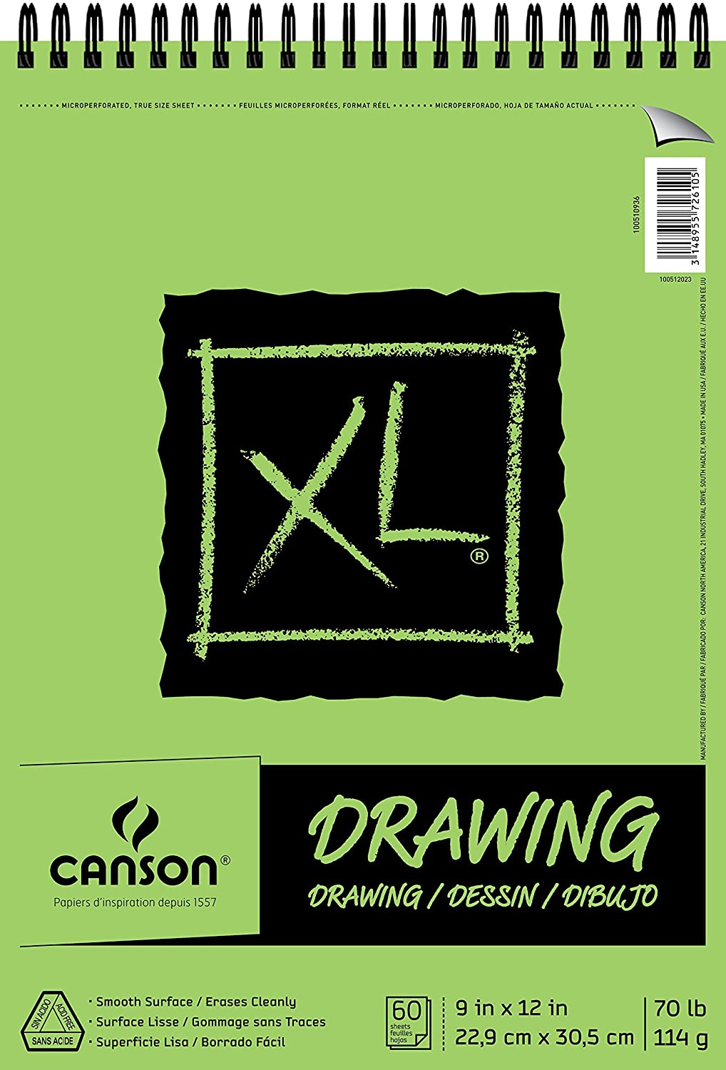 Canson XL Series Drawing, 9