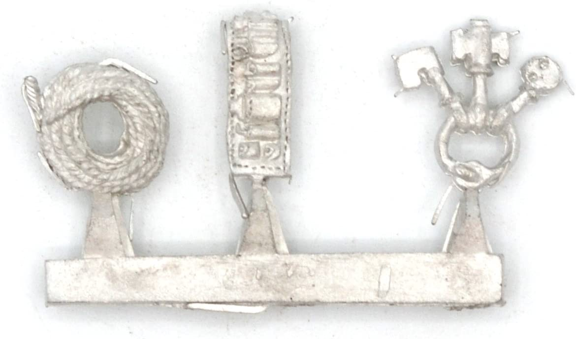 Stonehaven Coil of Rope, Thieves Tools and Key Ring Accessories Miniature Figure for 28mm Table Top Wargames - Made in USA