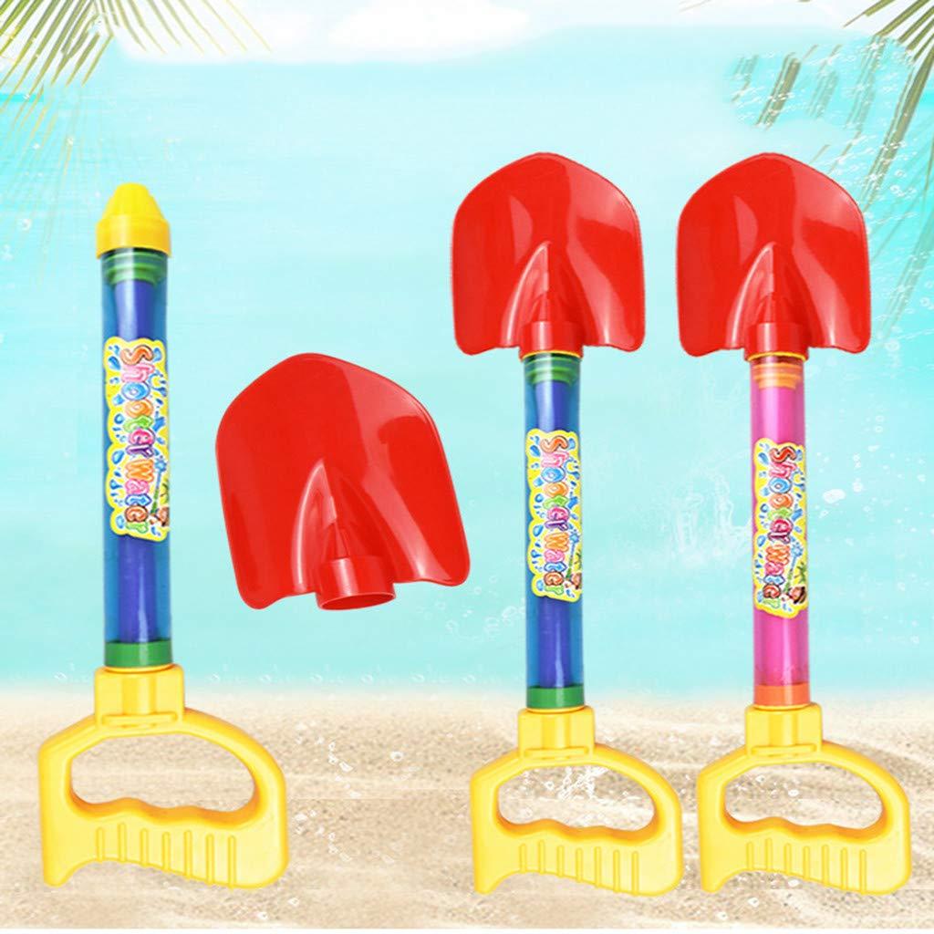 2pcs Sand Digging Water Gun, Sand Digging Shovel Rake Multifunctional Water Spray Gun Children's Beach Game Toys, Suitable for Seaside/Pool, Friendly Toys Outdoor Beach Sand Toys
