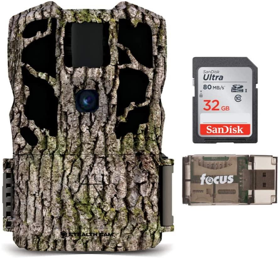 Stealth Camera G45NG Max Pro 30MP Trail Camera Essentials Bundle (3 Items)