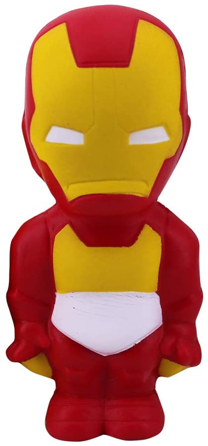 MagicBalls Marvel Hero Series Jumbo Squishy Toys Novelty Stress Relief Toys for Venting and Relaxing (Ironman Doll)