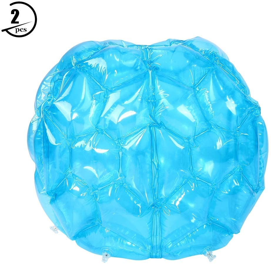 Cocoarm Inflatable Bumper Bubble Balls, Wearable PVC Funny Hamster Ball Body Bubble Ball for Kids and Adults, 2 PCS