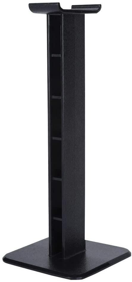 AMONIDA Headphone Stand Headset Holder Headset Hook Hanger Bracket Holder Headphone Display Rack Support Earphone Stand (Black)