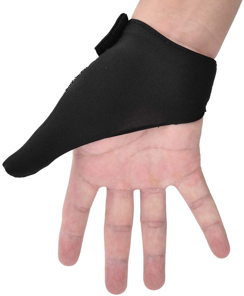 Haokaini Bowling Gloves Bowling Thumb Saver, Right Left Hand Grip Protection Gear Glove