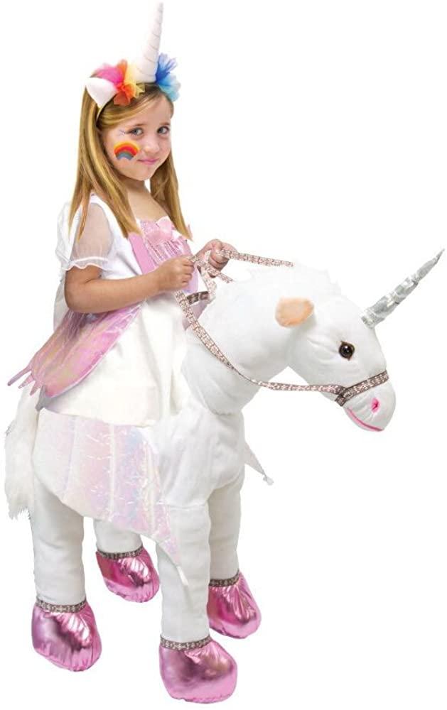 Kids Ride On Costume Unicorn T-Rex Horse Animal Halloween Party Cosplay