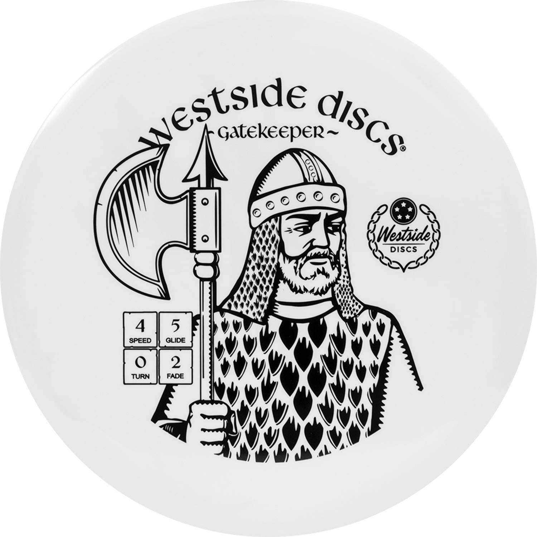 Westside Discs Tournament Gatekeeper Disc Golf Midrange | Stable Frisbee Golf Midrange | LG Special Stamp Golf Disc | Stamp Colors Will Vary