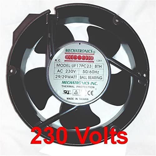 Mechatronics 230V AC Fans (60x30mm, High Speed)