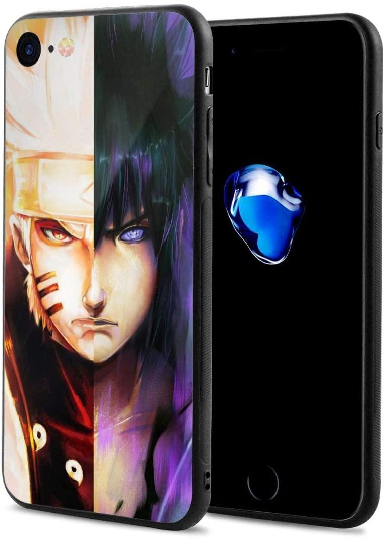 Cszswe Naruto Sasuke Anime Manga Comic Theme Case for iPhone 7/8 / iPhone 7p/8p / iPhone X/Xs/iPhoneXR / iPhone11/ iPhone11P (Iphone7p/8p)