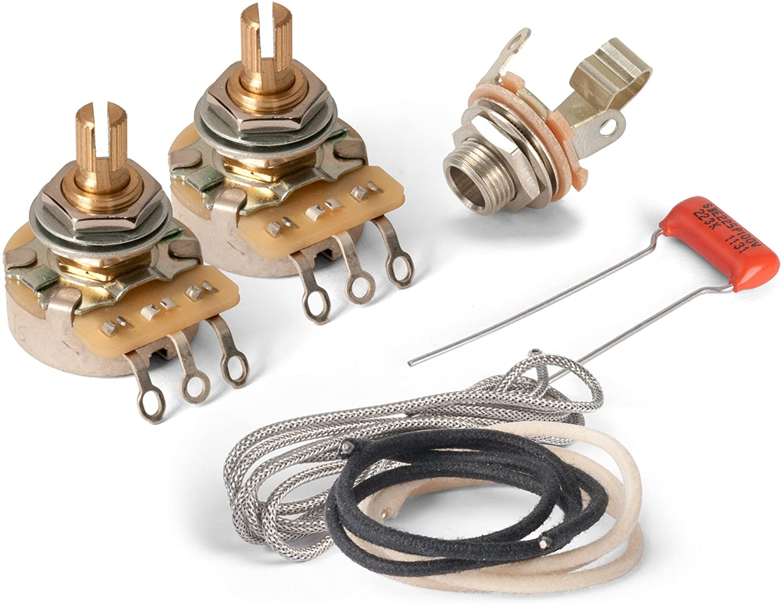 Golden Age Premium Wiring Kit for Gibson LP Junior or SG Junior