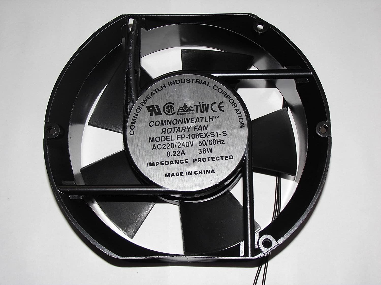 FP-108EX-S1-S 220V/240V 50/60Hz 0.22A 38W AC Fan,Cooling Fan