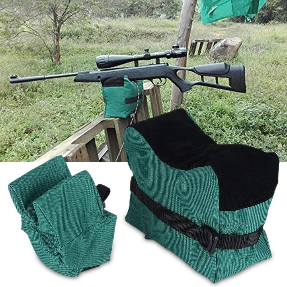 AYNEFY Shooting Sandbag,Unfilled Front and Rear Bag Shooters Gun Rest Sand Bags Shooting Bench Steady Sandbag for Outdoor, Range, Shooting and Hunting