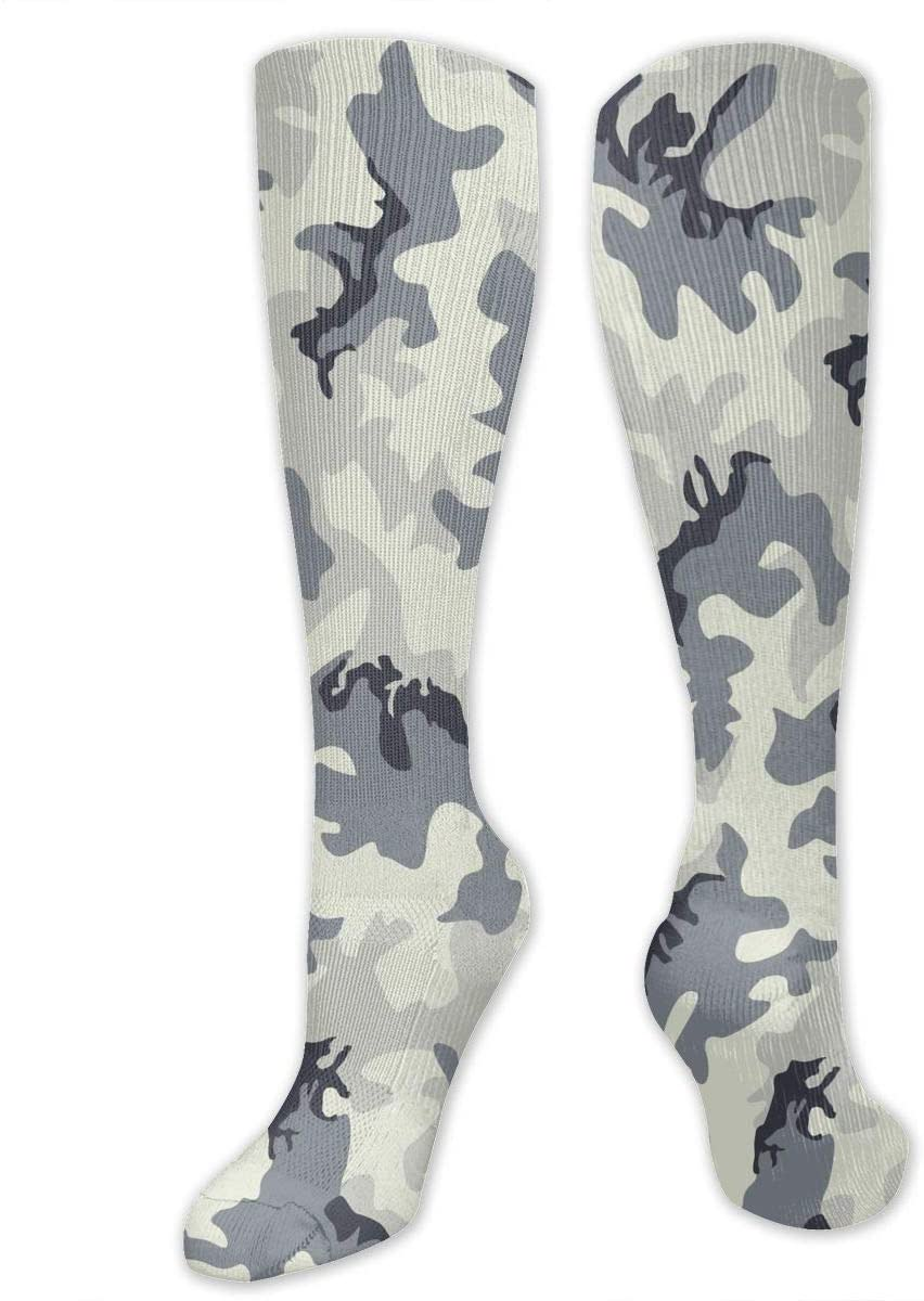 Compression Socks for Women Men Nurses Runners - Best Medical Stocking for Travel, Maternity, Running, Athletic, Varicose Veins - Army Camouflage 3D Print