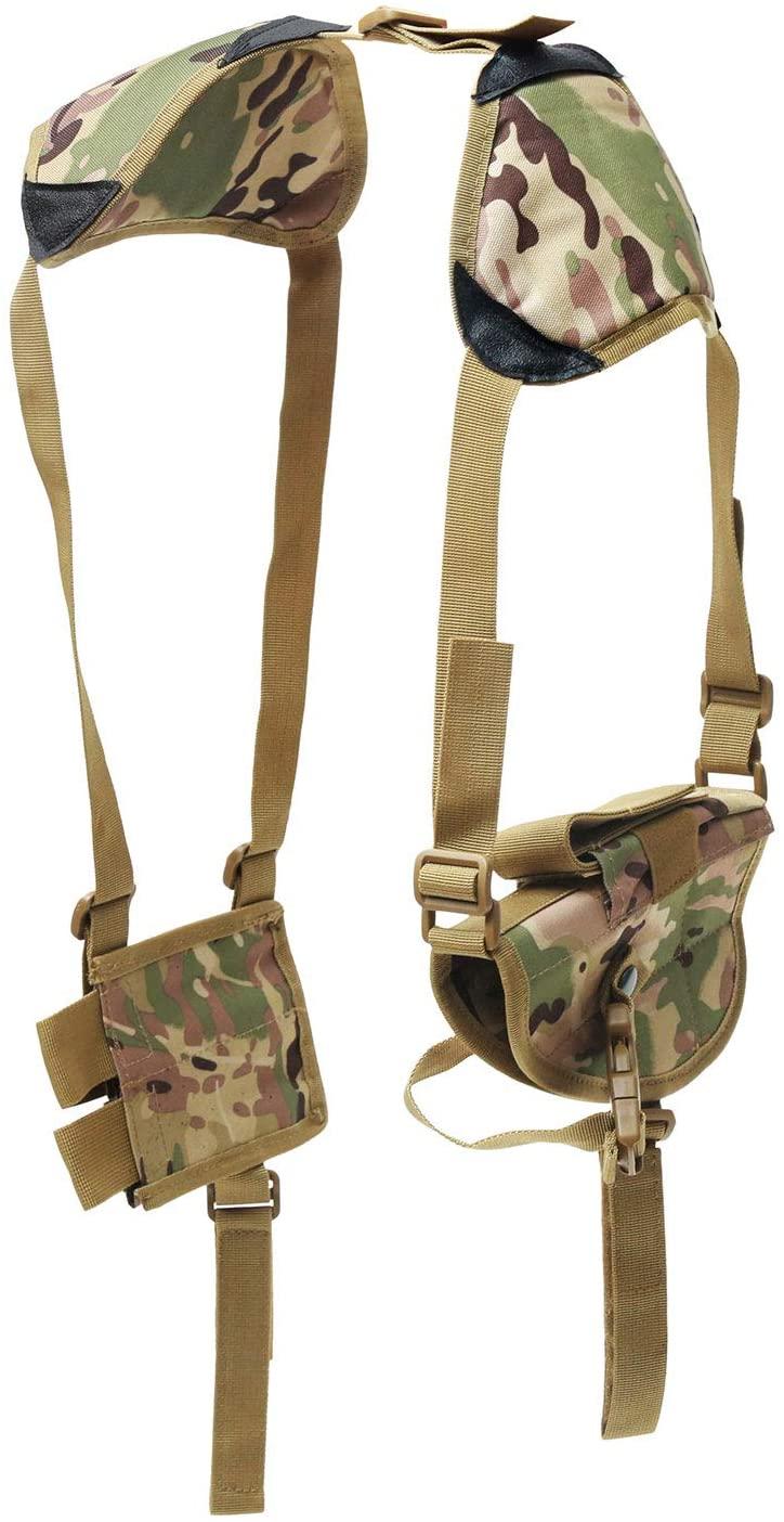 kiact Concealed Carry Shoulder Holster Vertical Shoulder Holster Adjustable for Most Handguns or Pistol