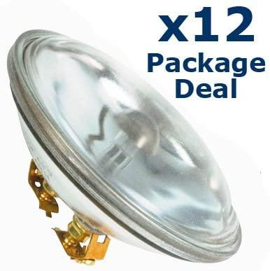 12x 30w Par36 Can Lamp 4515 Bulb Pinspot Light Bulbs