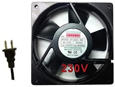 Mechatronics 230V AC Fans (120x25mm, Low Speed)