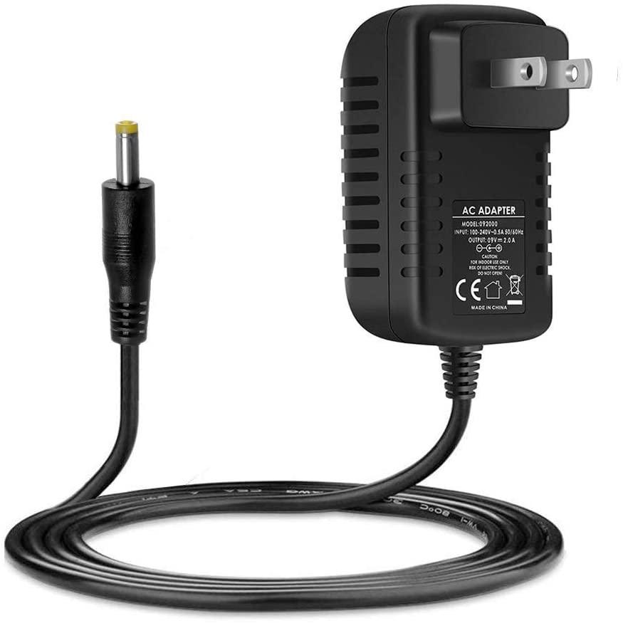 9V AC Adapter Charger Compatible with Korg Volca Syth Bass, Beats Rhythm, Keys Loop Synthesizer, Korg KA350 KROSS-61 KROSS-88 Power Cord