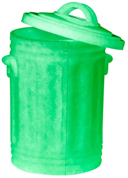 Glow in The Dark Trash Can for WWE Wrestling Action Figures