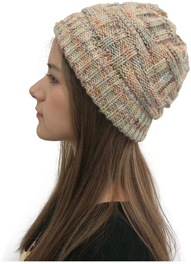 Hmedalyck Bucket Hat Cowboy Hat Women Stacking Hat Crochet Knit Beanie Cap Trump Witch Hat