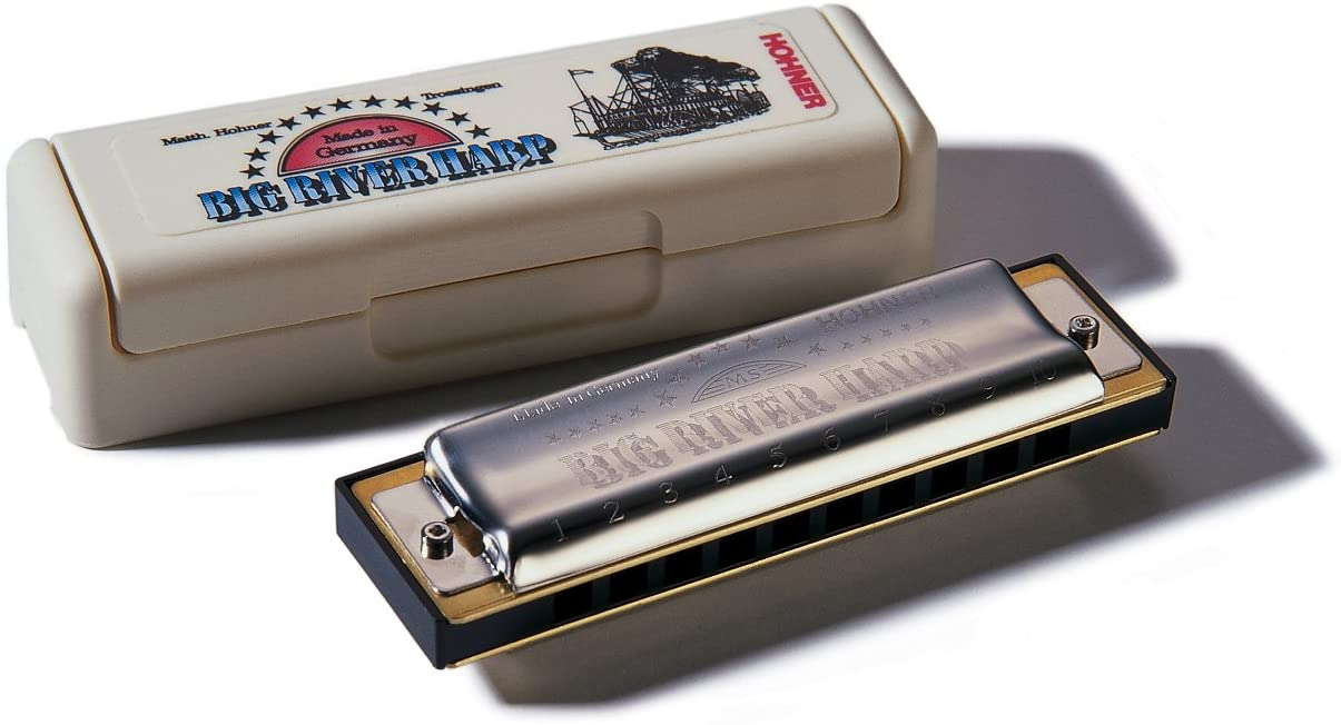 Hohner Big River Harmonica, Key of Eb